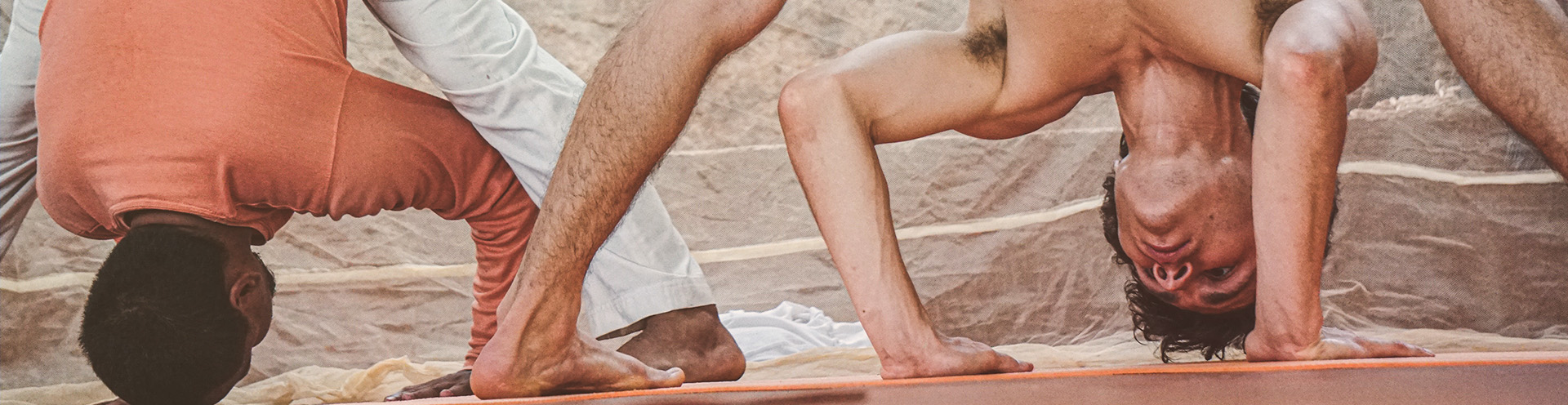 Ashtanga Yoga Teacher Training Banner
