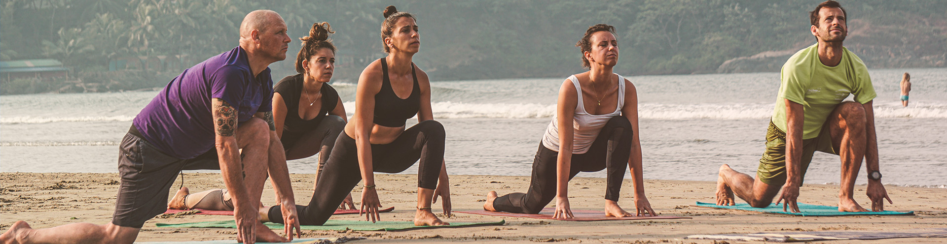 Hatha Yoga Teacher Training Banner
