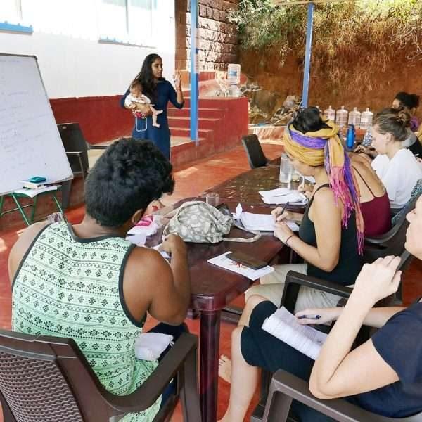 Learn method of teaching yoga at shree hari yoga school