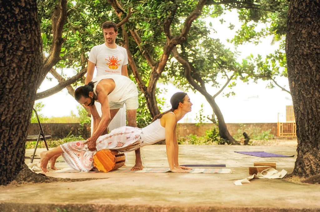 Methodology in yoga in shree hari yoga school