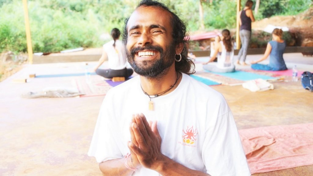 Yoga Teacher Hari at Shree Hari Yoga School in India, best yoga teacher, spiritual leader and therapist