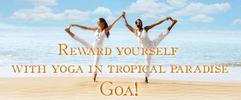 Yoga Teacher Training at the beach in Goa in India