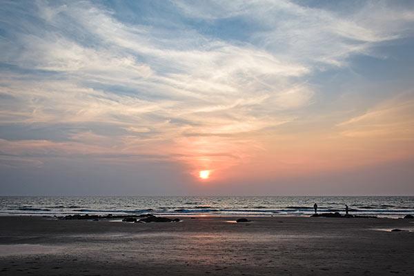 Ashvem Beach Sunset