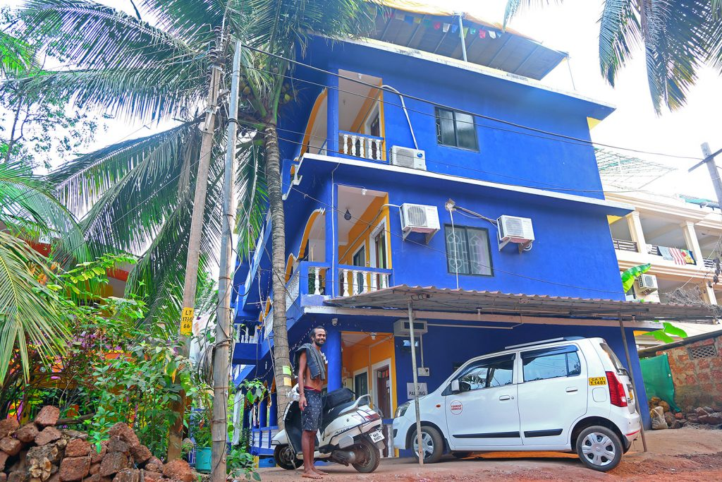 Accommodation at YTTC in Goa at Shree Hari Yoga