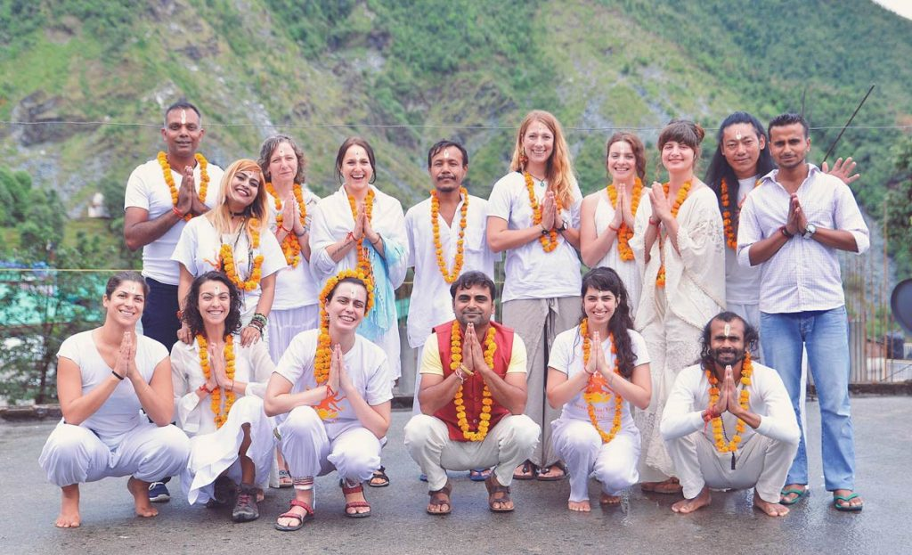 300 hour yttc group dharamshala