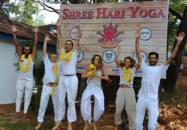 300 our yttc group photo gokarna shree hari yoga school