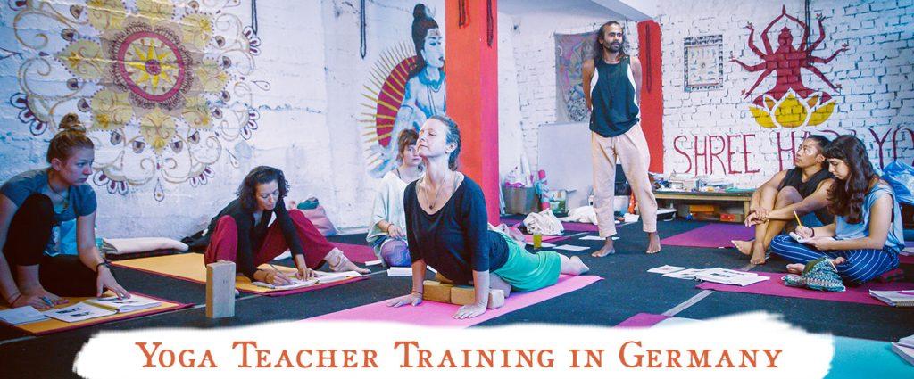 shree hari yoga school germany, 200 stunden yoga lehrer ausbildung