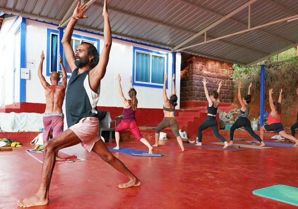 Ashtanga Yoga in Gokarna india with shree hari yoga