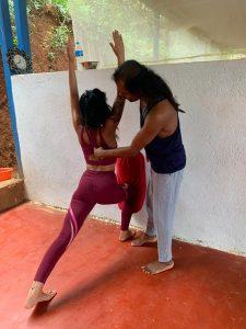 yttc at shree hari yoga school