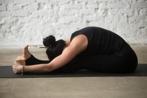 Seated Forward Bend - paschimottanasana-pose