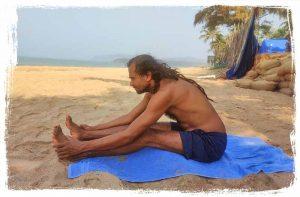 Seated Forward Bend - paschimottanasana-pose